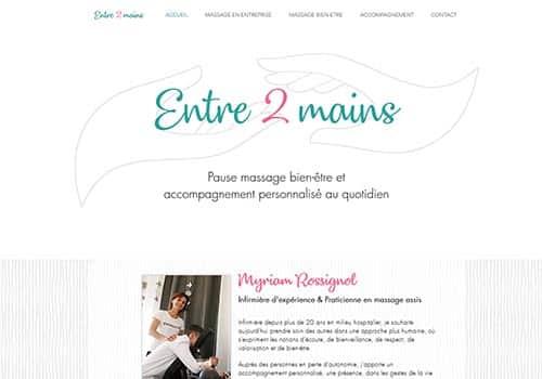 site internet Entre 2 mains