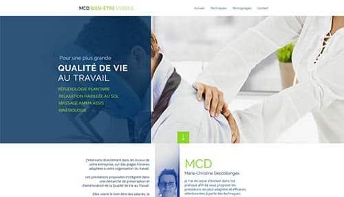 site massage MCD Bien être