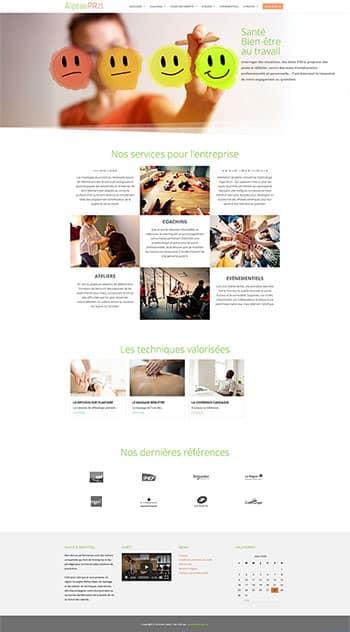 Site Aliptae Pro – Santé bien être en entreprise