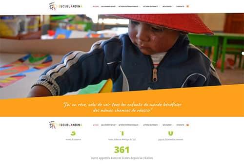 Site Escuelandina