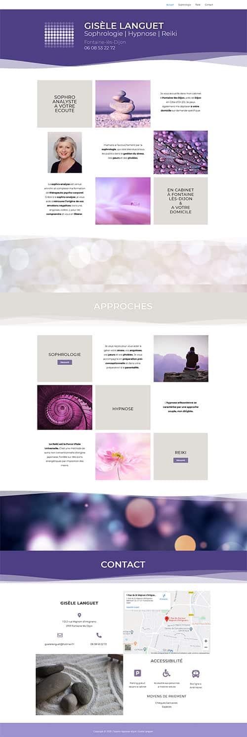 Site Sophro hypnose dijon