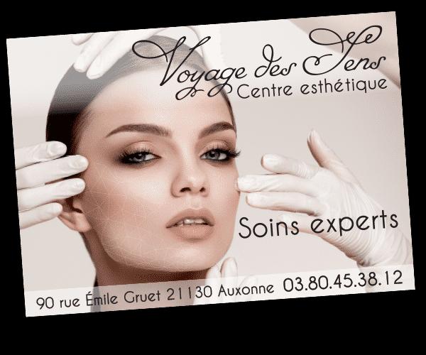 panneau publicitaire Angélique Cavard