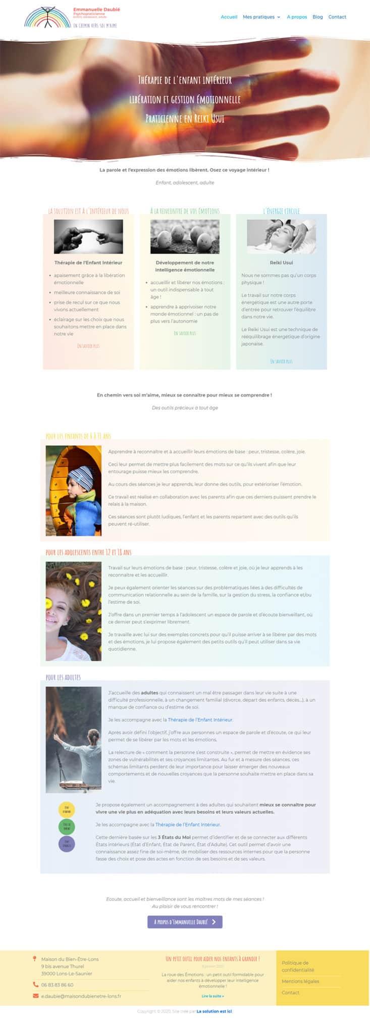 site internet Emmanuelle Daubié